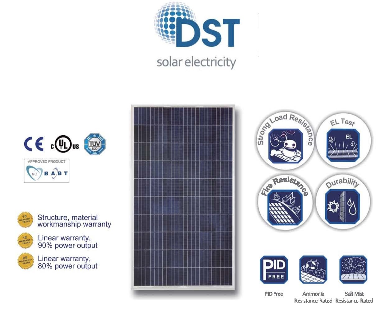 DS TECHNOLOGY SOLAR PANELS