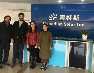 Canadian Solar Factory Suzhou Vico Export LM8 Solar