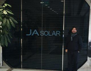 JA Solar Shanghai Headquarters Vico Export Solar Energy